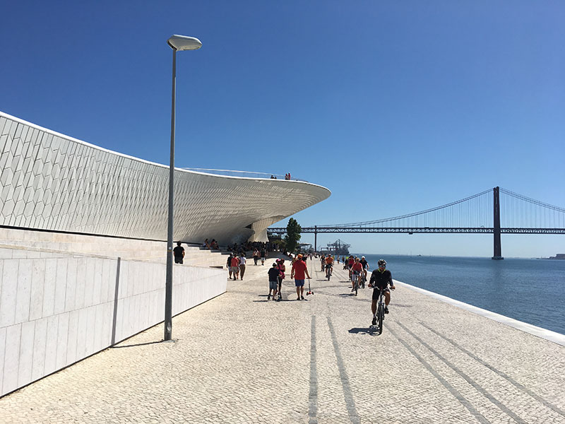 MAAT Museum of Arts , Architecture and Technology of Lisbon